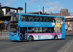 6100-NL63YJD_Wallsend_40 (1) (Northern Bus Photos) Tags: gonortheast goahead volvob9tl wrighteclipsegemini2 littlecoasters nl63yjd
