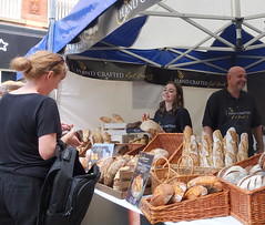 Handcrafted bread stall at Bolton Food Festival 2019 (Tony Worrall) Tags: bolton boltonfoodfest boltonfoodfestival festival foodie eat food show event annual stalls make streetfood north update place location uk england visit area attraction open stream tour country item greatbritain britain english british gb capture buy stock sell sale outside outdoors caught photo shoot shot picture captured ilobsterit instragram bake bread handcrafted candid shoppers