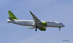 Bombardier CS300 ~ YL-AAP  Air Baltic (Aero.passion DBC-1) Tags: spotting cdg 2019 dbc1 david biscove aeropassion avion aircraft aviation plane airport roissy bombardier cs300 ~ ylaap air baltic