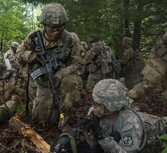 1st Regiment Advanced Camp Cadets from Army ROTC and USMA-West P (armyrotcpao) Tags: 1stregiment advancedcamp armyrotc cst cst2019 ftx fieldingtrainingexercise fortknox intergration kentucky newfriends rotc walkphase westpoint army cadet cadetsummertraining female male raid resourcful