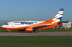 ok-swv b735 egcc (Terry Wade Aviation Photography) Tags: b735 egcc tvs
