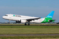 OE-LVR - LEVEL - Airbus A320-214 (5B-DUS) Tags: oelvr level airbus a320214 a320 ams eham amsterdam schiphol airport aircraft airplane aviation flughafen flugzeug planespotting plane spotting