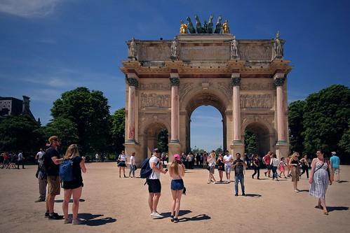 Small Triumphal Arch. Paris, France
