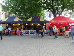 Stalls at Bolton Food Festival 2019 (Tony Worrall) Tags: bolton boltonfoodfest boltonfoodfestival festival foodie eat food show event annual stalls make streetfood north update place location uk england visit area attraction open stream tour country item greatbritain britain english british gb capture buy stock sell sale outside outdoors caught photo shoot shot picture captured ilobsterit instragram
