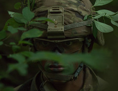 2nd Regt. Advanced Camp Cadets, FTX (armyrotcpao) Tags: cst2019 2ndregt advancedcamp camoflauge fieldtrainingexercise forest ftx radiio
