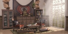 🌞‍ Mantra (sushiforbreakfastResident) Tags: secondlife second life lovely yoga peace fapple lucaslameth lucas lameth interior interiordesign homedecor home decor furniture