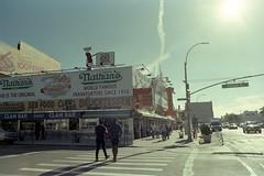 (Chimpley) Tags: olympusom1 zuiko28mmf28 fujifilmvenus800 coneyisland brooklyn newyork 35mm