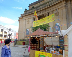 Thai food and Library at Bolton Food Festival 2019 (Tony Worrall) Tags: bolton boltonfoodfest boltonfoodfestival festival foodie eat food show event annual stalls make streetfood north update place location uk england visit area attraction open stream tour country item greatbritain britain english british gb capture buy stock sell sale outside outdoors caught photo shoot shot picture captured ilobsterit instragram thai asian library