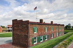 US MD Baltimore - Fort McHenry National Monument (David Pirmann) Tags: maryland baltimore fortmchenry warof1812 francisscottkey nationalregisterofhistoricplaces nationalpark nrhp66000907 flag starspangledbanner