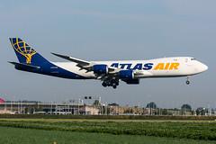 N854GT - Atlas Air - Boeing 747-87UF (5B-DUS) Tags: n854gt atlas air boeing 74787uf b748 747800 ams eham amsterdam schiphol airport aircraft airplane aviation flughafen flugzeug planespotting plane spotting
