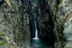 Cascade de la Diosaz (Glc PHOTOs) Tags: glc0811 cascade de la servoz haute savoie long exposure tripod diosaz