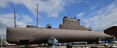 Wilhelmshaven - U10 (S189) (cnmark) Tags: germany deutschland niedersachsen lowersaxony wilhelmshaven deutschesmarinemuseum german naval museum 205class u10 s189 submarine uboat uboot ship vessel schiff display ©allrightsreserved