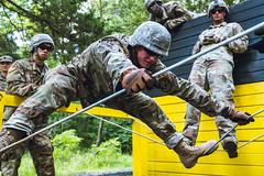 9th Regiment, Advanced Camp at the Field Leader Reaction Course (armyrotcpao) Tags: 9thregiment advancedcamp armyrotc cst cst2019 fieldleaderreactioncourse fortknox kentucky rotc army cadetsummertraining cadets cadre training