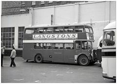 Relief at Victoria (geoff7918) Tags: thamesvalley bristol ecw victoriacoachstation 1963