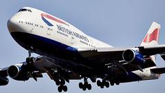 Boeing 747 (Bernie Condon) Tags: british airways ba baw airliner airline passenger pax aircraft plane flying heathrow londonairport london uk england aviation boeing boeing747 jumbo jumbojet 747