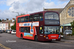Go Ahead Hedingham 818, YN06JYC. (EYBusman) Tags: go ahead east anglia hedingham omnibus bus coach clacton sea essex town centre scania omnidekka lancs lancashire metrobus orpington crawley london regional transport buses yn06jyc eybusman