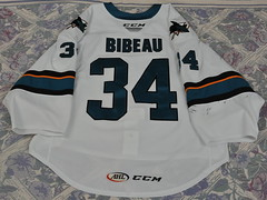 Antoine Bibeau (opurt2007) Tags: sanjosebarracuda barracuda barracudatrout gameworn ahl 201819 antoinebibeau antoine bibeau