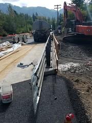 Bridge beginnings (WSDOT) Tags: wsdot highway sr9 tawescreek fish salmon trout culvert construction highwayconstruction pnw pnwonderland environment fishing vanzandt deming whatcomcounty