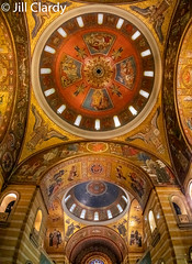 Domes of the Cathedral Basilica of St. Louis (Jill Clardy) Tags: cruise mississippirivercruise 201908179l8a8534pano st louis missouri cathedral mosaic ceiling art dome domes basilica cathedralbasilicaofstlouis explore explored church