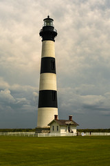 Bodie Lighthouse (Ann Kunz) Tags: bodielighthouse outerbanks northcarolina travel sky lighthouse beach vacation