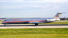 Farewell, Super 80! (LeoMuse747) Tags: american airlines mcdonnell douglas md82 n452aa kord ord chicago ohare airport illinois united states super80sendoff md80 maddog planespotting planespotter nikon d40 nikkor 55200mm