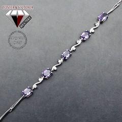 Bracelet frise d'argent et améthyste en argent 925 (olivier_victoria) Tags: argent 925 améthyste bracelet fleur naturelle branche frise liser liseré