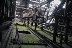 green steel (jkatanowski) Tags: urbex urban exploration europe decay derelict destroyed decaying decayed abandoned forgotten lost lostplace industry industrial machinery machine steel mess metal sony a7m2