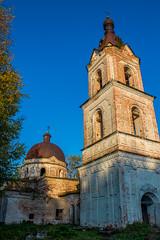 Крестовоздвиженская церковь в Анкушино