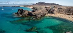 DSC_1147 copie (stefblub) Tags: canaries canaryisland lanzarote papagayo plage beach panoshots
