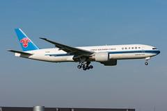 B-2042 - China Southern Airlines Cargo - Boeing 777-F1B (5B-DUS) Tags: b2042 china southern airlines cargo boeing 777f1b b772 ams eham amsterdam schiphol airport aircraft airplane aviation flughafen flugzeug planespotting plane spotting