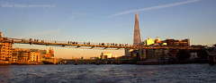London's skyline (gilmavargas480) Tags: theshard londres london uk londonbridgestation buildings architecture arquitectura england thames travel viajando river panorama