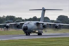 Airbus A400M Atlas - 04 (NickJ 1972) Tags: royalinternationalairtattoo riat raf fairford airshow 2019 aviation airbus a400 atlas grizzly ec400