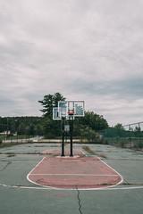 Empty field (rantropolis) Tags: abandoned basketball court resort grass urbex urbanexploration nikon d750 15mm