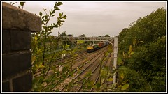 4L12 - Madeley - 1540 (peterdouglas1) Tags: freightliner class66 66414 madeley footbridges