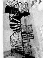Spiral staircase (Zunkkis) Tags: stairs staircase spiralstaircase