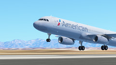 InfiniteFlight_2019-09-04-18-18-55 (Rednex The Fox) Tags: infiniteflight flightsimulator simulation game american airbus losangeles