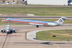 AA MD83 (zfwaviation) Tags: krow row kdfw dfw dallasfortworth airport md80 md83 super80sendoff s80 super 80 airliner airline airplane