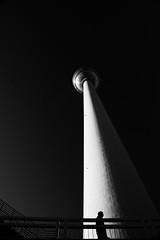Berlin Funkturm (jo.misere) Tags: funkturm berlijn berlin germany duitsland bw zw
