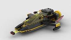 Blacktron Craft (Constender) Tags: lego moc classic space blacktron spaceship fighter