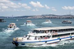 Bosphorus Ferries (johnawatson) Tags: istanbul turkey fujifilmxpro2 xf35mmf14r boats vessel boat ferry water sea ship