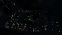 InfiniteFlight_2019-09-04-10-31-17 (Rednex The Fox) Tags: infiniteflight flightsimulator simulation game american airbus night