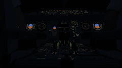 InfiniteFlight_2019-09-04-10-49-13 (Rednex The Fox) Tags: infiniteflight flightsimulator simulation game american airbus night