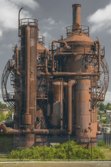 Gas Works Industrial Grit 2019 (TheArtOfPhotographyByLouisRuth) Tags: gasworks industrial rusted urban fence seattle equipment silo steampunk artofimages thehouseofimagegallery aggroup thisshouldbeapostcard light stunningscenes proimages architecture license metal structure seattlepark