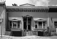 23rd Street San Francisco CA (Postcards from San Francisco) Tags: m2 konicauchexanon35mmf2 jchstreetpan400 rodinal film analog themission sanfrancisco