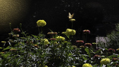 Nature's Canvas (Carol (vanhookc)) Tags: digitalprocessing digitalpainting oilpaint painterly iowastatefairgrounds desmoines