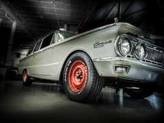 COMET (Dave GRR) Tags: mercury comet retro vintage old classic american muscle car auto show garage shop workshop tires rims toronto olympus