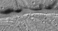 Nectaris Fossae, variant (sjrankin) Tags: 5september2019 edited nasa mars mro marsreconnaissanceorbiter fossae nectarisfossae valley sanddunes craters grayscale esp0179911520