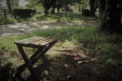 abandoned stool (Sat Sue) Tags: olympus micro four thirds 43 penf japan fukuoka