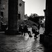 San Gimignano - Evening falls (35mm Ilford Delta 400 in Finol)