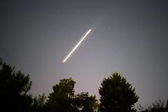 Plane Streak (Thomas Cheung Bus Photography) Tags: sony a7riii ilcea7riii nightphotography night astrophotography astro plane longexposure stars sky australia southernhemisphere